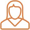 Icono de tutora psicopedagoga par el programa de seguimiento personalizado de recuperaciones en verano en Mundoclases Ourense