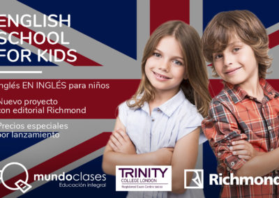 Clases de inglés para niños Valencia
