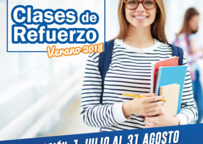 Clases de Refuerzo Escolar Verano 2018 – Salamanca